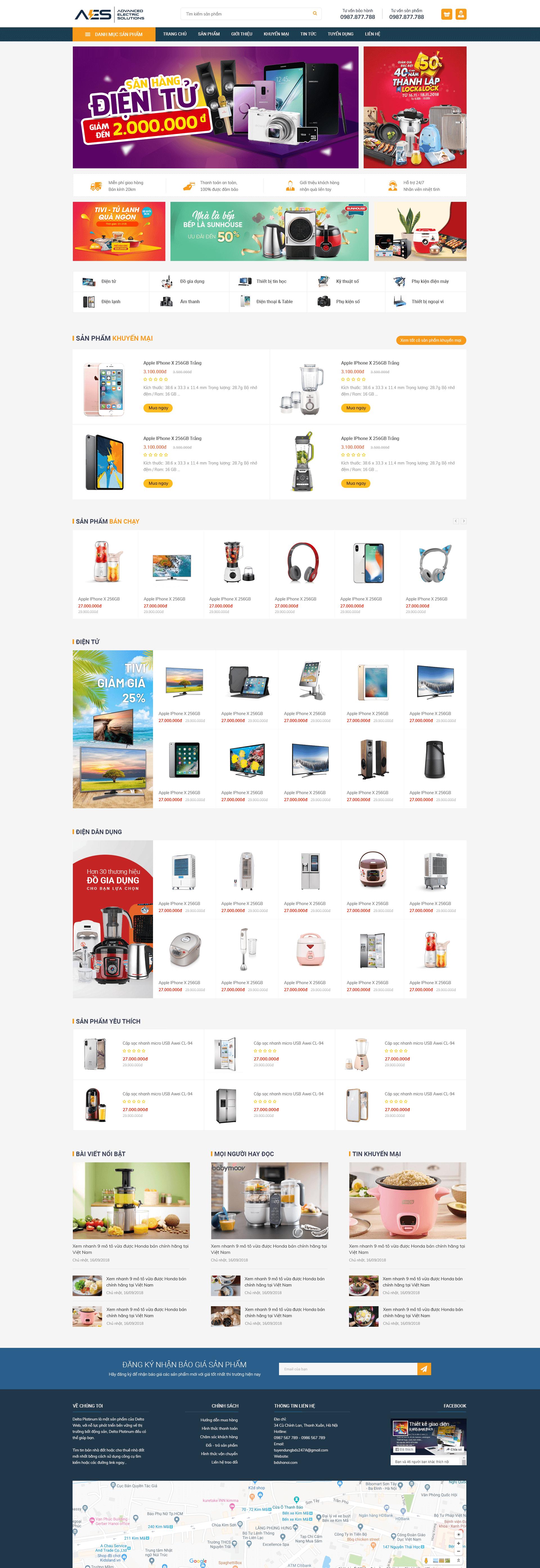 website Điện Tử RT