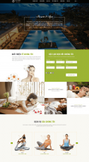 Website Spa-resort