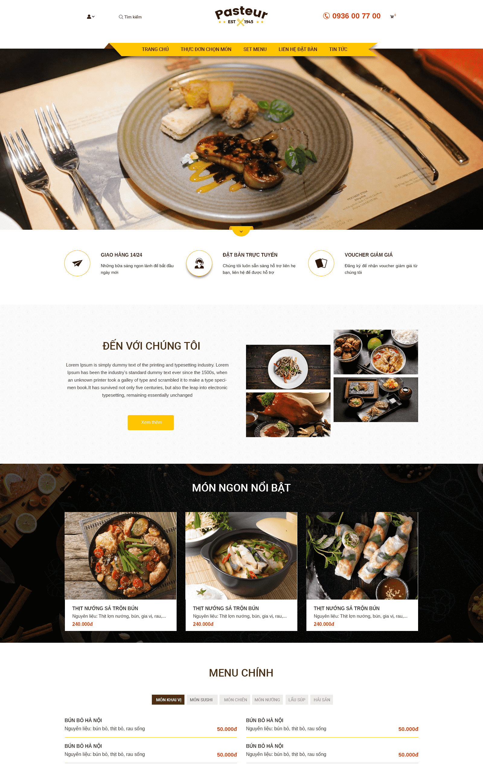 Website Pasteur