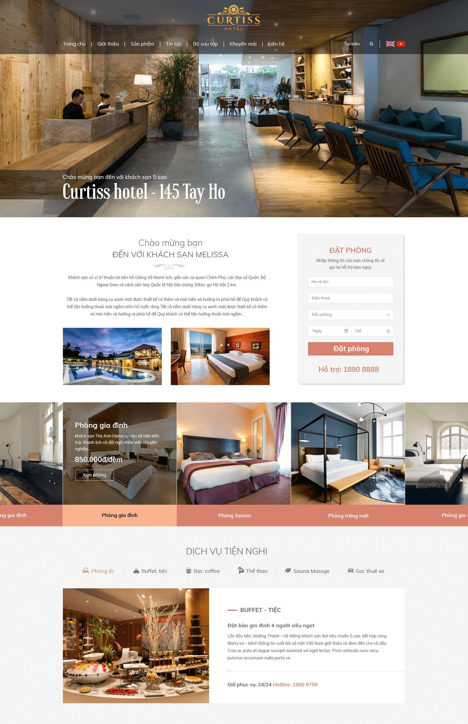 Website Khách sạn2 RT
