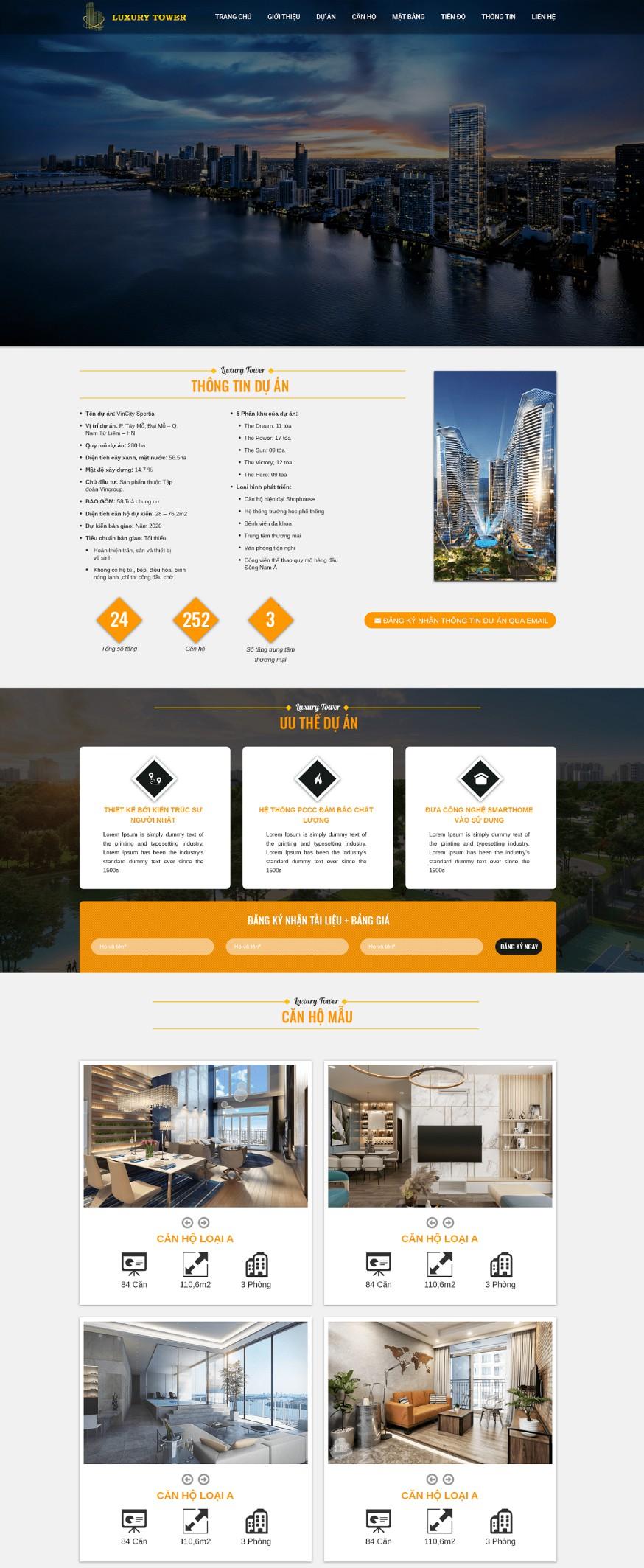 Website Bất động sản RT