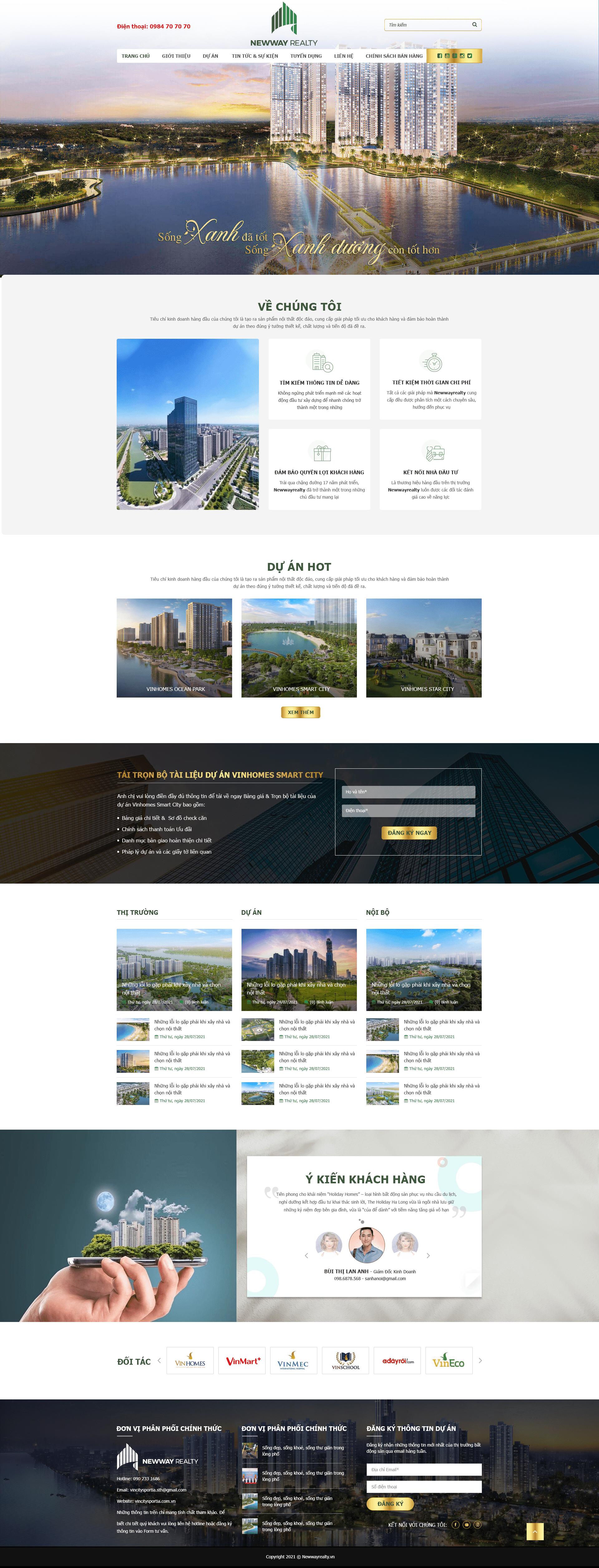 Web bất động sản RT