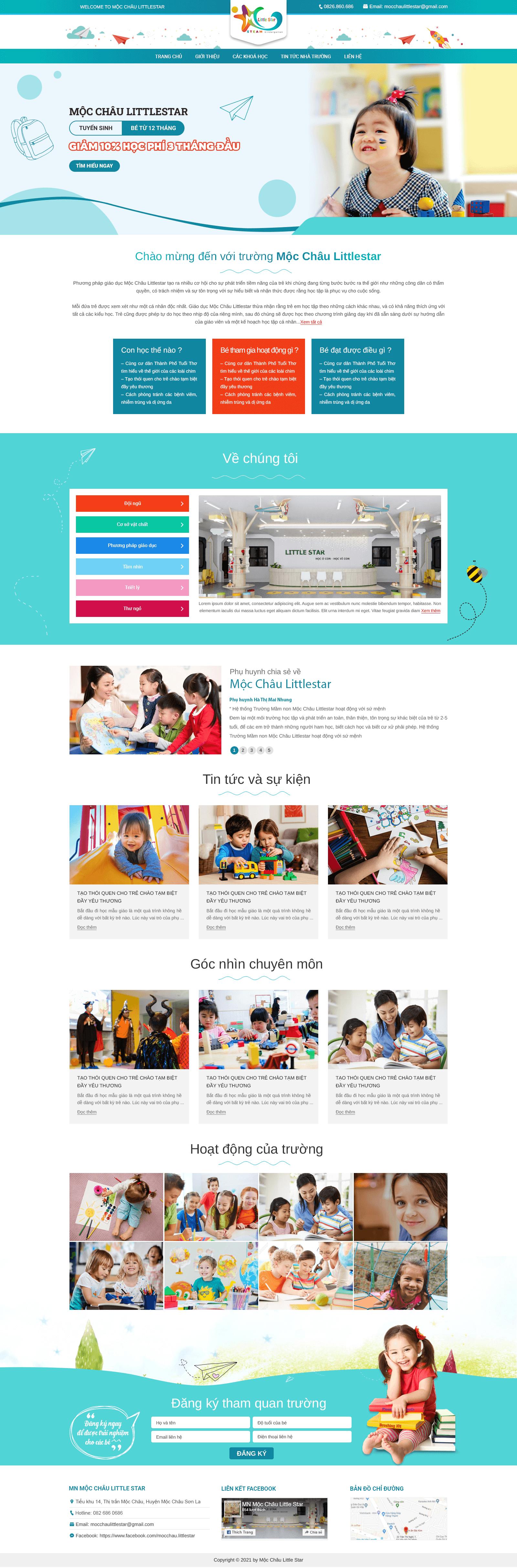 Web trường học RT